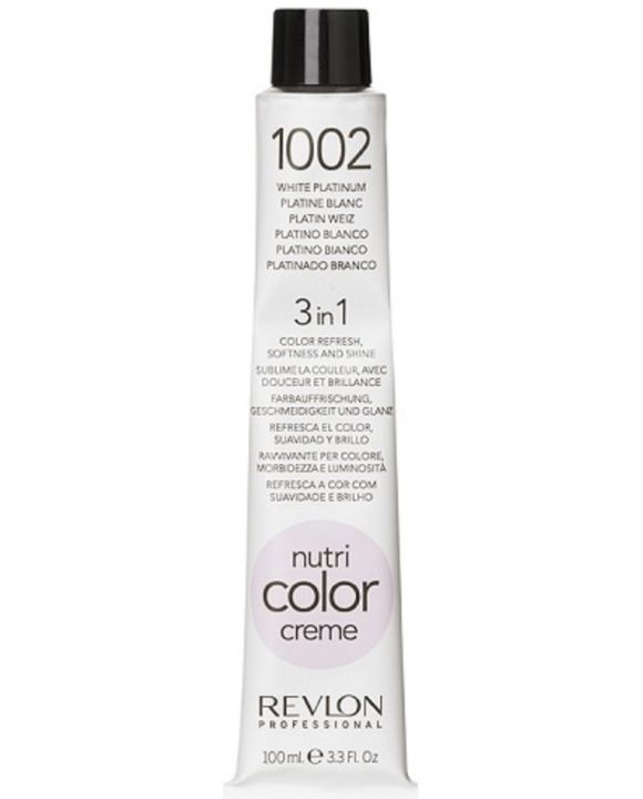Nutri Color Cream Tube 1002 Platinum Wit 100 ml