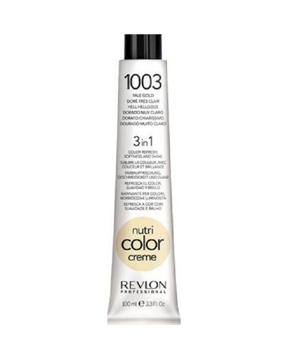 Nutri Color Cream Tube 1003 - Zeer Licht Goud 100 ml