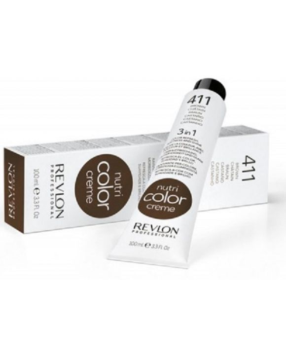 Nutri Color Cream Tube 411 - Ash Brown 100ml