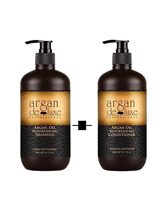 Argan De Luxe Shampoo en Conditioner
