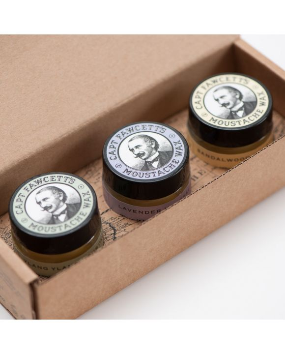 Moustache Wax Gift Set Cornucopia