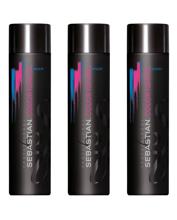 Color Ignite Multi Shampoo 250 ml 3 stuks