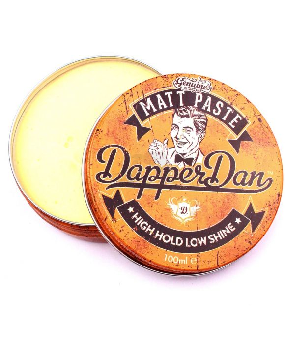 Dapper Dan Matt Paste High Hold-Low Shine 100ml