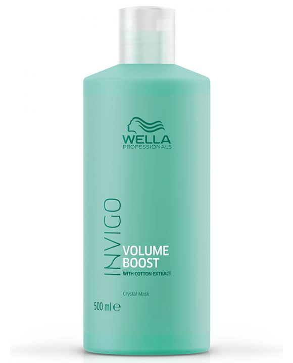 Invigo Volume Boost Chrystal Mask Fijn Haar 500 ml