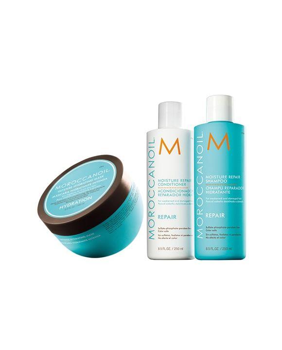 Moisture Repair Shampoo en Conditioner en Hydrating Masker