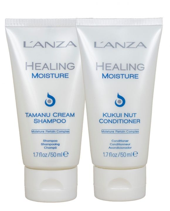 Healing Moisture Travelset Shampoo en conditioner
