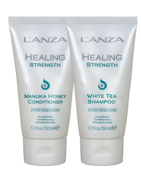 Healing Strength Travelset shampoo en conditioner