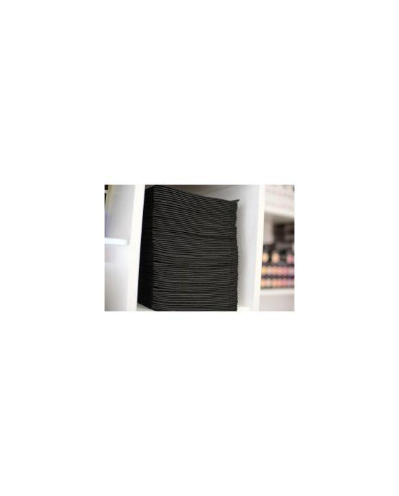 Scrummi Waffle Black Essential Salon Towel 700 stuks
