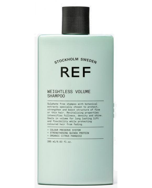 REF Weightless Volume Shampoo 285 ml