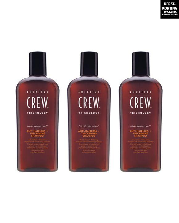 Anti Hairloss en Thickening Shampoo 3 stuks