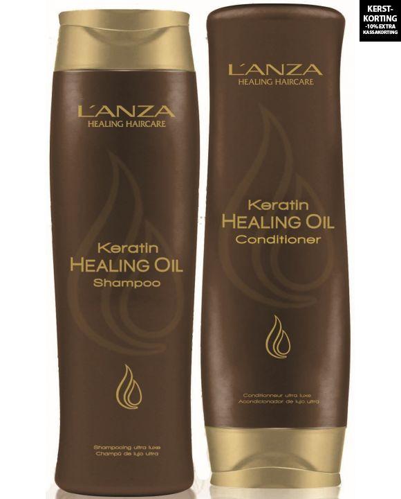 Keratin Healing Oil Silken Duo