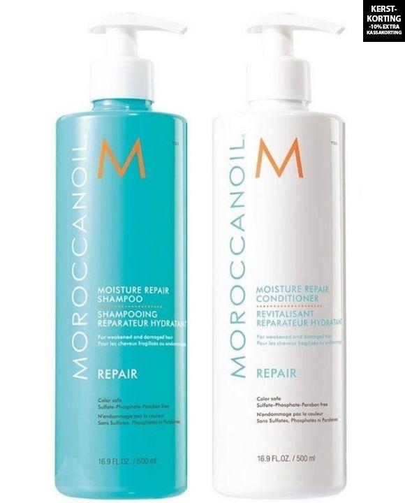 Moisture Repair Shampoo en Conditioner 500ml