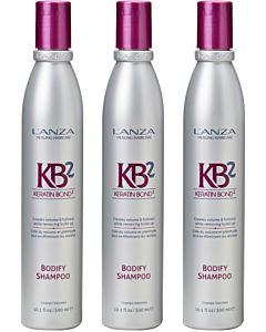 Bodify Shampoo 300 ml 3 stuks