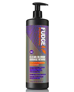 Clean Blonde Damage Rewind Violet-Toning Shampoo 1000 ml