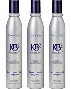 Daily Clarifying Shampoo 300 ml 3 stuks