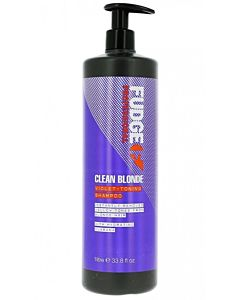 Clean Blonde Violet-Toning Shampoo 1000 ml