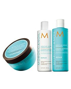 Moisture Repair Shampoo en Conditioner en Hydrating Masker