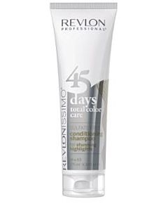Revlon 45 Days Color - 2 in 1 Shampoo & Conditioner - For Stunning Highlights