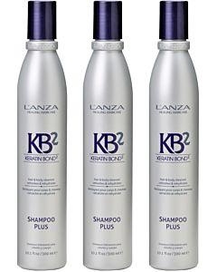Shampoo Plus 300 ml 3 stuks