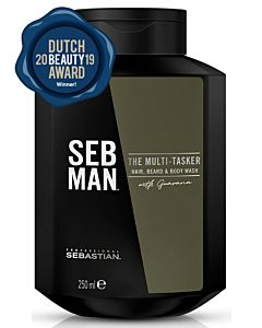 The Multitasker Hair, Beard and Body Wash 250ml