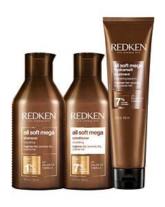 All Soft Mega Combi Deal Shampoo, Conditioner & Hydramelt