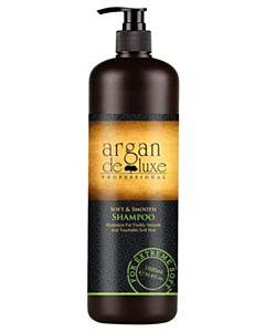 Argan De Luxe Soft Smooth Shampoo 1000ml incl. pomp