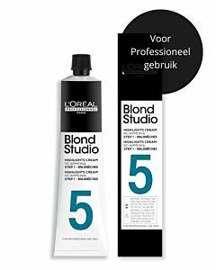 Blond Studio Majimeches Lightening Cream Step 1