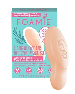 Foamie Cleansing Face Bar Clean Me  (oily to acne-prone skin with tea tree oil)