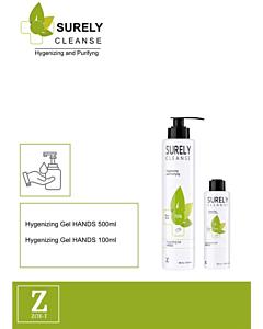 Hygienische Handgel met Aloe Vera 500ml