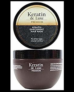 Keratin de Luxe Keratin Enrichment Hair Mask 250ml