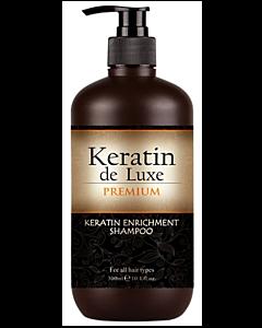 Keratin de Luxe Keratin Enrichment Shampoo 300ml