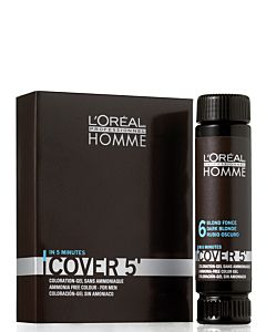 Homme Cover 5' Light Brown 3x50ml