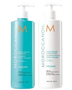 Extra Volume Shampoo en Conditioner 500ml