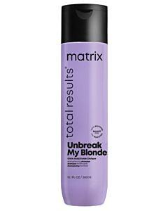 Total Results Unbreak My Blonde Sulfaatvrije Versterkende Shampoo - 300ml