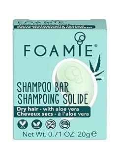 Foamie MINI Shampoo Bar Aloe You Vera Much Travel Size