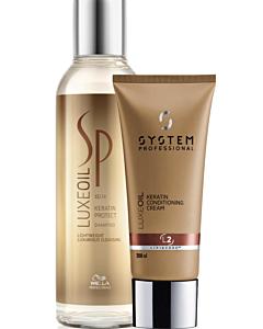 Wella SP Luxe Keratin Combi Deal Protect Shampoo &Conditioner