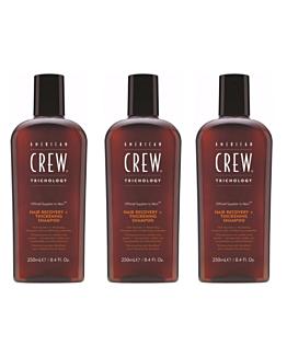 Hair Recovery and Thickening Shampoo 3 stuks