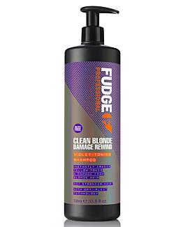 Clean Blonde Damage Rewind Violet-Toning Shampoo 1000 ml