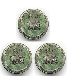 Grease Medium Hold Green 113 gr. 3 stuks