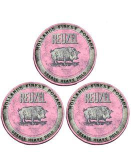 Pink Heavy Hold 113 gr. 3 stuks