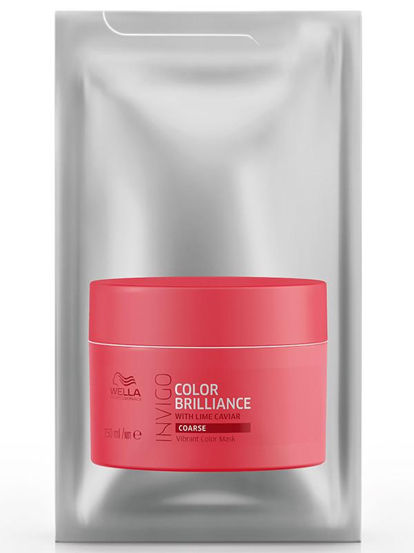 Afbeelding van Invigo Color Brilliance Mask dik haar 15 ml