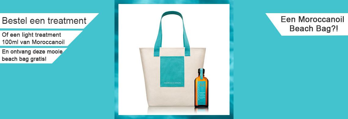 Een gratis beach bag voor op het strand!